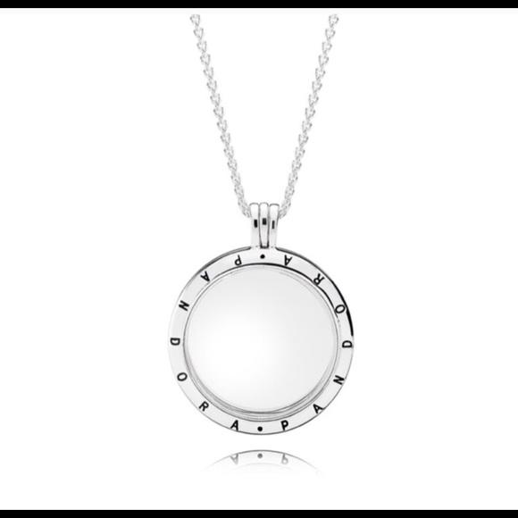 c114f3464 Pandora Floating Locket Necklace. M_5b44d962c2e9fe10f9a38c72